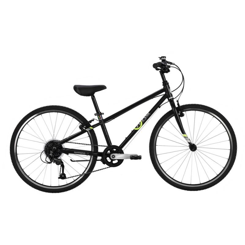 Byk Bikes E540x9 9 Speed External Bike - Black/Neon Yellow