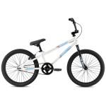 """2021 SE Bikes Bronco 20"""" Kids Series BMX Bike - White"""