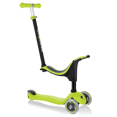 Globber GO UP Sporty Scooter - Lime Green