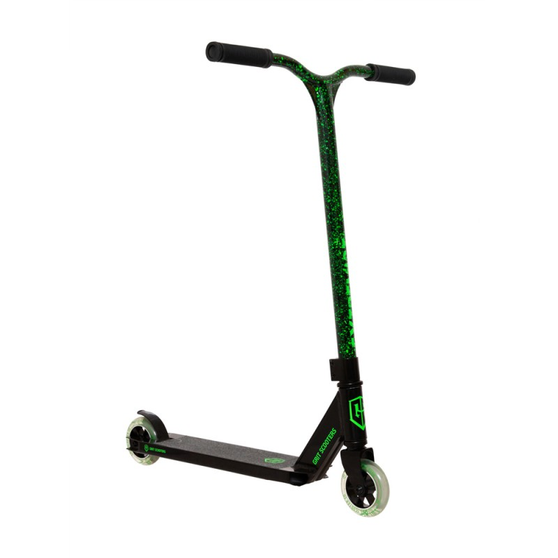 2021 Grit Extremist Scooter - Black/Marble Green