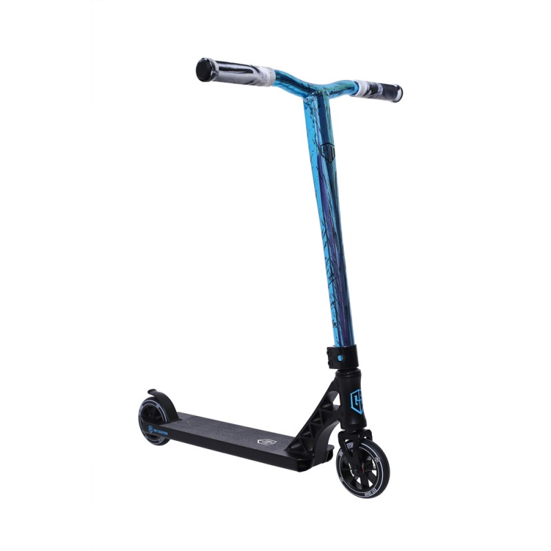 2021 Grit Elite XM Scooter - Black / Vapour Blue Black Laser