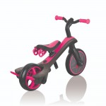 Globber Explorer Trike 4 in 1 - Fuchsia Pink