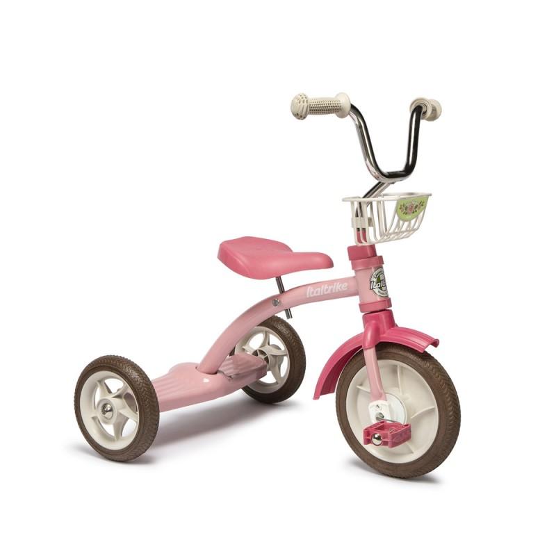 "Italtrike 10"" Super Lucy Trike - Rose Garden Pink"