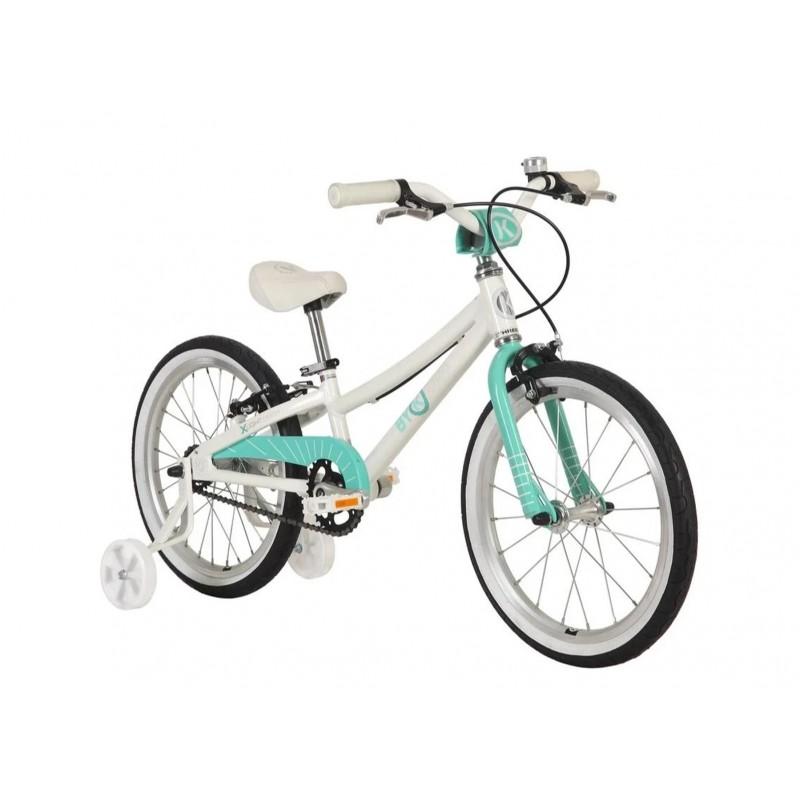 Byk Bikes E-350 Kids Single Speed Bike - Celeste Green