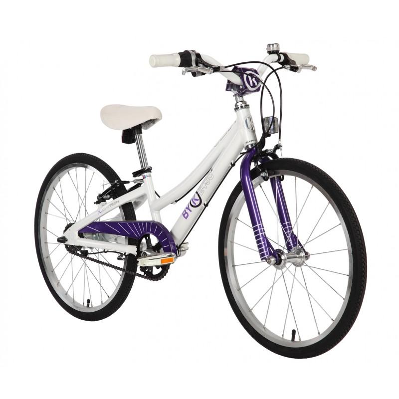 Byk Bikes E-450 Kids 3 Speed Internal Geared Bike - Deep Violet