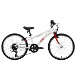 Byk Bikes E-450 Kids 8 Speed External Geared Bike - Bright Red