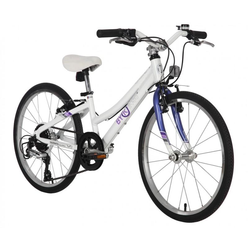Byk Bikes E-450 Kids 8 Speed External Geared Bike - Steel Purple