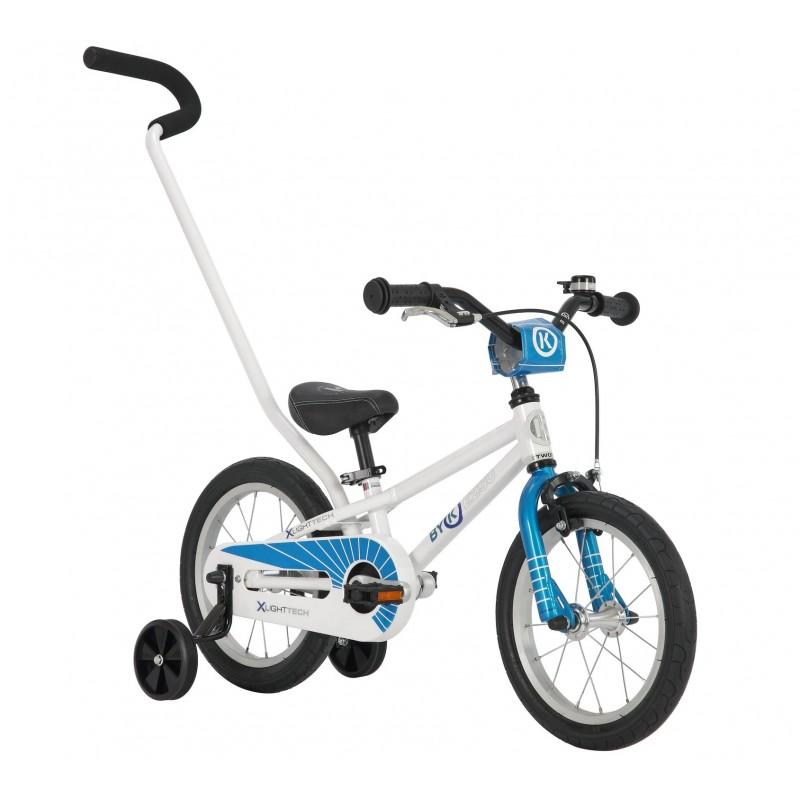 Byk Bikes E-250 Kids Single Speed 3-in-1 Bike - Cyan Blue