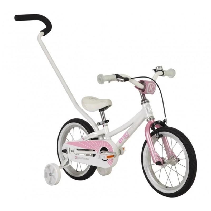 Byk Bikes E-250 Kids Single Speed 3-in-1 Bike - Pretty Pink
