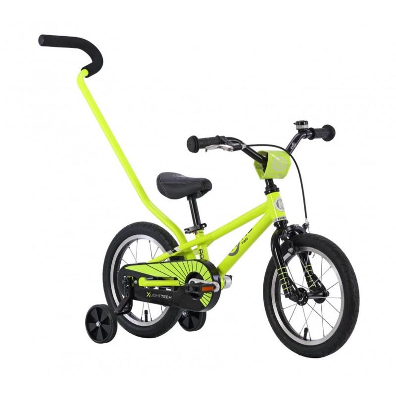 Byk Bikes E-250 Kids Single Speed 3-in-1 Bike - Neon Yellow/Black