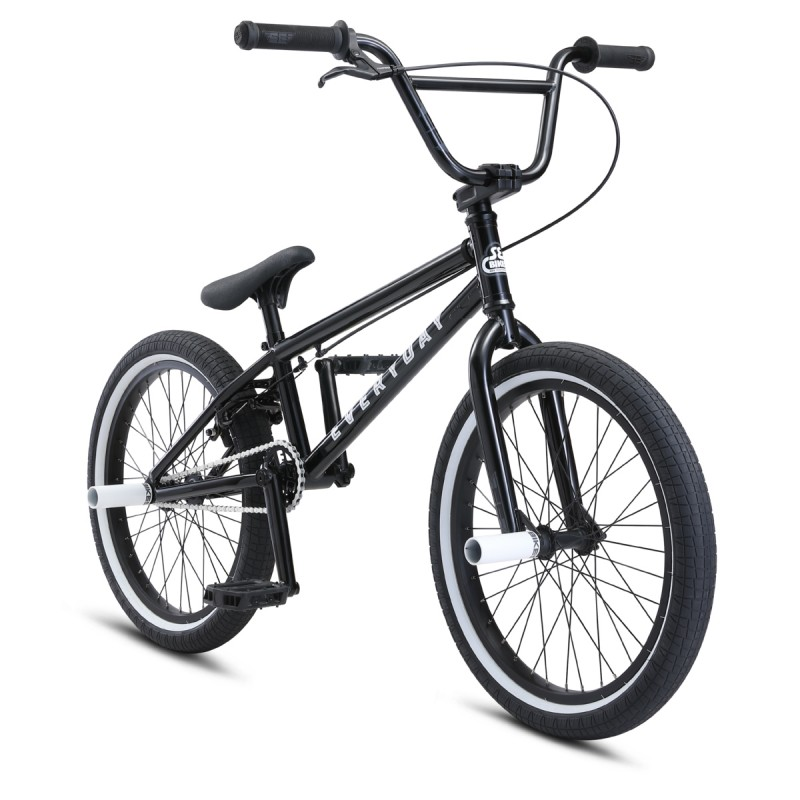 "2021 SE Bikes Everyday 20"" BMX Bike - Black"