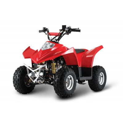 Crossfire Kanga 90 90cc Junior Quad Bike - Red