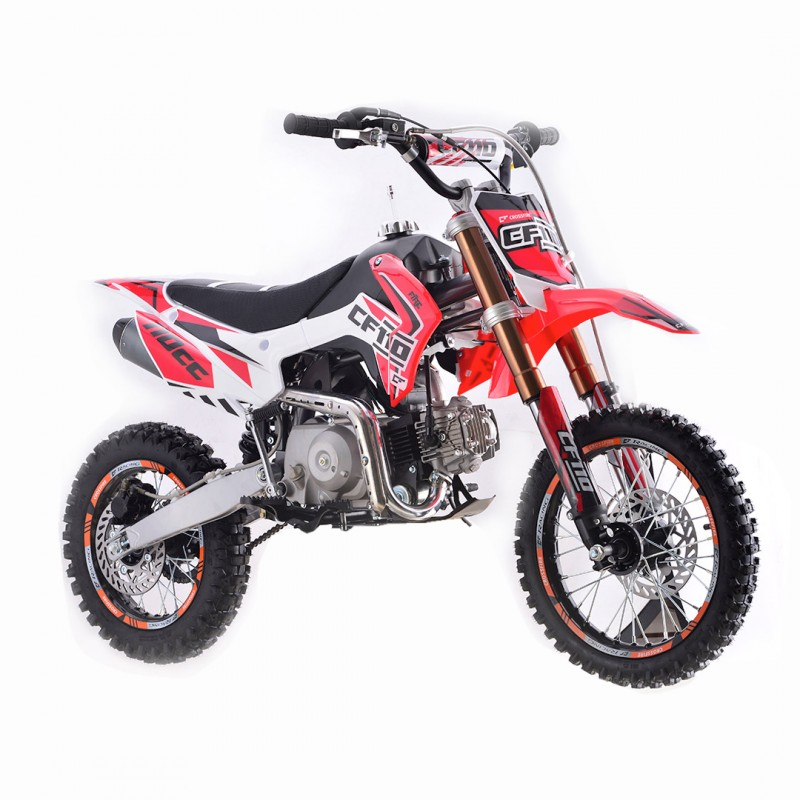 Crossfire CF110 110cc  Dirt Bike - Red