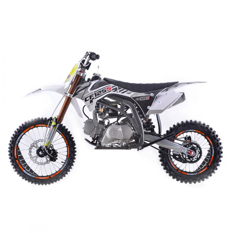 Crossfire CF125s 125cc Dirt Bike - White