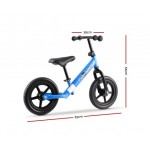 """Rigo Kids 12"""" Balance Bike - Blue"""