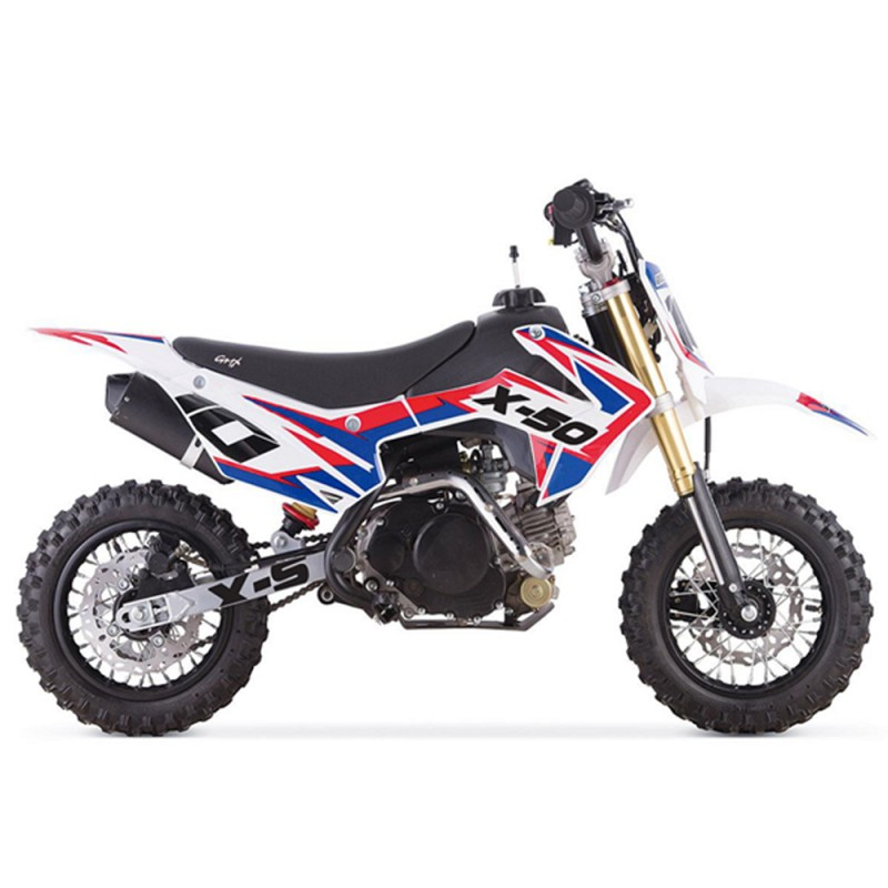 GMX X Series X-50 Dirt Bike - Blue/Red