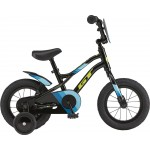 "GT Bicycles Grunge 12"" Kids Single Speed Bike - Gloss Black"