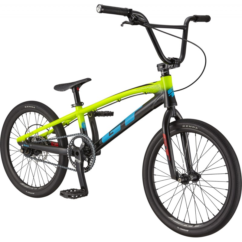 GT Bicycles Speed Series Pro XXL Race BMX Bike - Neon Yellow