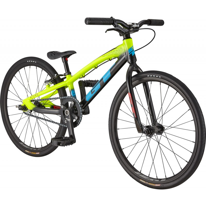 GT Bicycles Speed Series Micro Race BMX Bike - Neon Yellow
