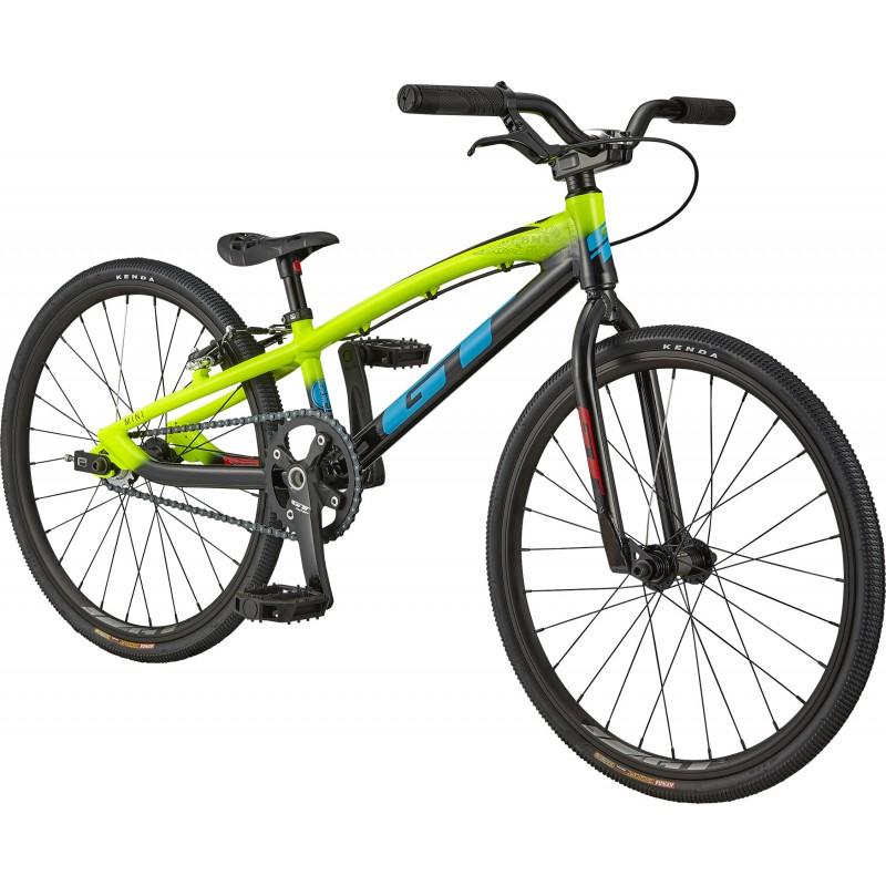 GT Bicycles Speed Series Mini Race BMX Bike - Neon Yellow