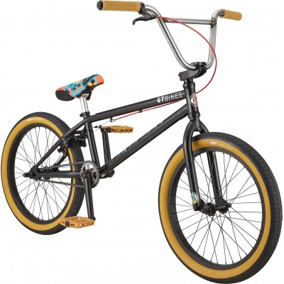 "GT Bicycles Performer 21""TT Freestyle BMX Bike - Satin Black"