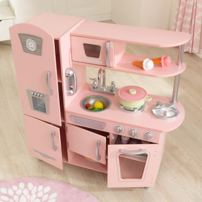 Kidkraft Pink Kitchen: Kidkraft Kids Vintage Kitchen