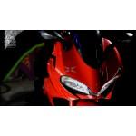 Little Riders Ducati Motorbike 12V Replica Electric Kids Ride On - Red