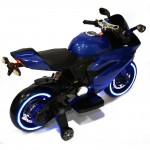 Little Riders Ducati Motorbike 12V Replica Electric Kids Ride On - Blue