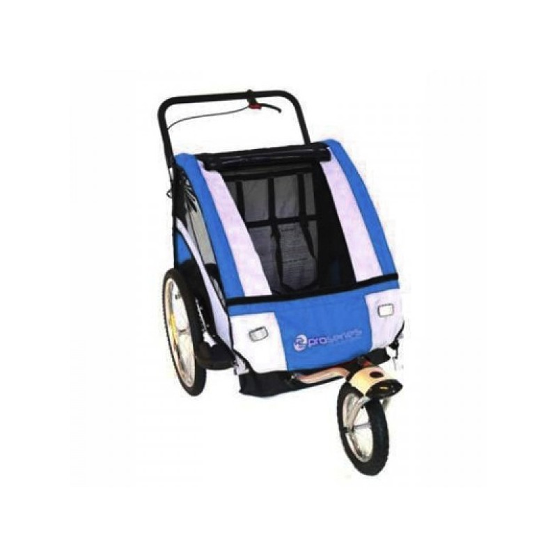 Pro Series Child Bike Bicycle Trailer Jogger Blue