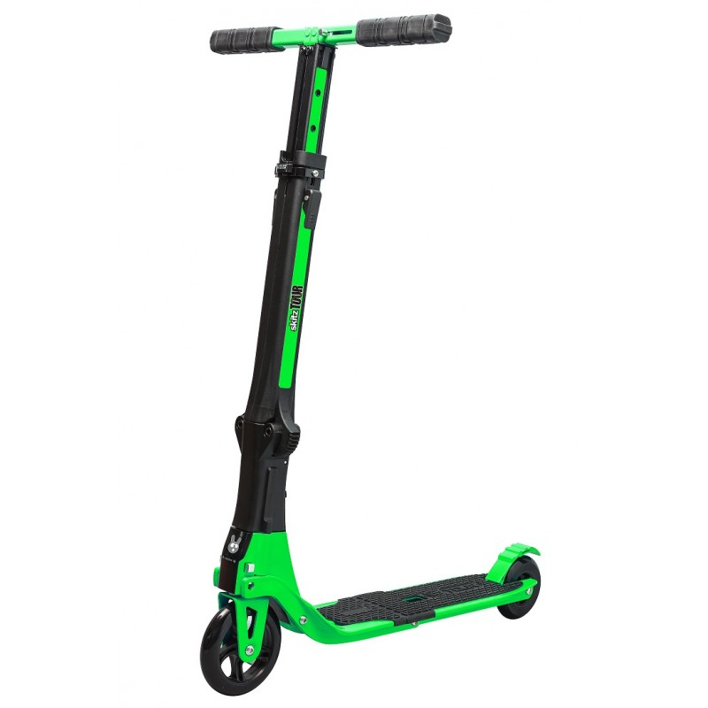 Go Skitz Tour Foldable Scooter With Backpack Green