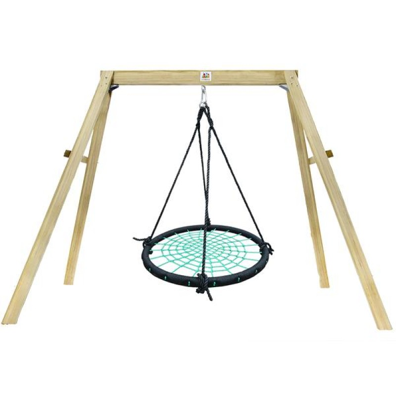 Lifespan Oakley Swing Set with 1m Spidey Web Swing
