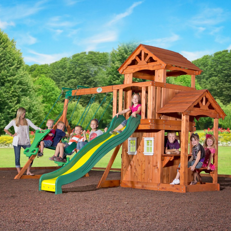Backyard Discovery Tanglewood Play Centre | Go Easy Online