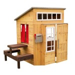 KidKraft Kids Modern Outdoor Playhouse