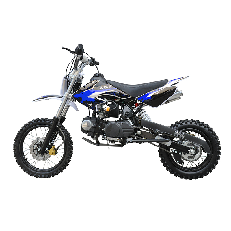 GMX 125cc Dirt Bike Small Wheel Blue