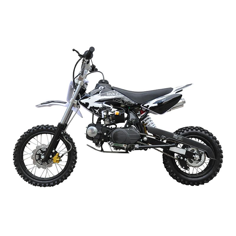 GMX 125cc Dirt Bike Small Wheel Black