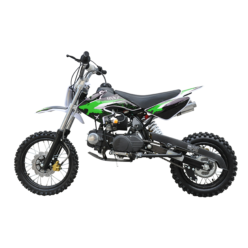 GMX 125cc Dirt Bike Small Wheel Green