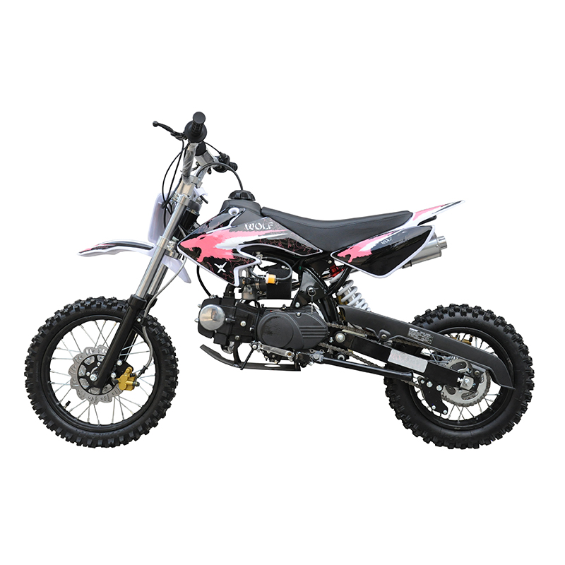 GMX 125cc Dirt Bike Small Wheel Pink