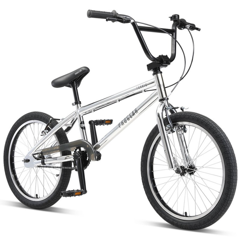 "Progear Torrid 20"" BMX Bike Metallic Chrome"