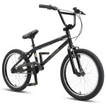 "Progear Torrid 20"" BMX Bike Matt Black"