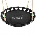 Lifespan Cellar Nest Swing Set with Slippery Slide