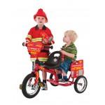 Eurotrike Kids Tandem Trike - Fire