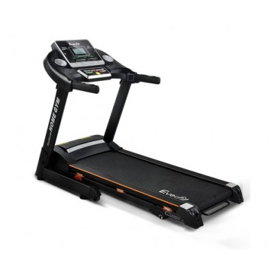 Everfit Electric Treadmill 42cm Running Home Gym Fitness Machine Black