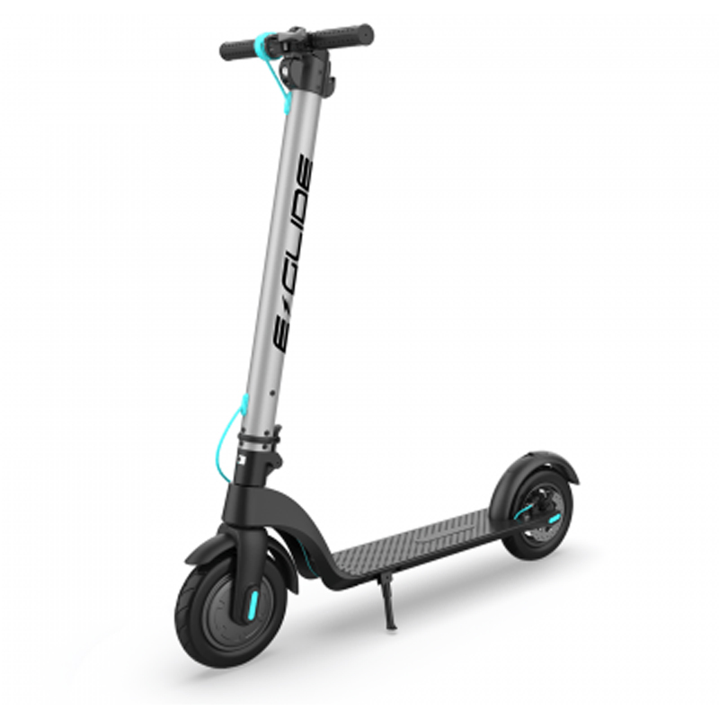 E-Glide G60 Electric Scooter - Gunmetal/Blue
