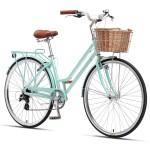 """XDS Loretta 700c x 19"""" Ladies Alloy Retro Bike - Mint"""