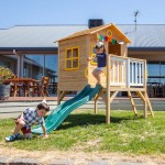 Lifespan Archie Cubby House with Green Slide
