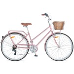 "Progear Pomona 700c x 15"" Ladies Retro Bike - Rose Gold"