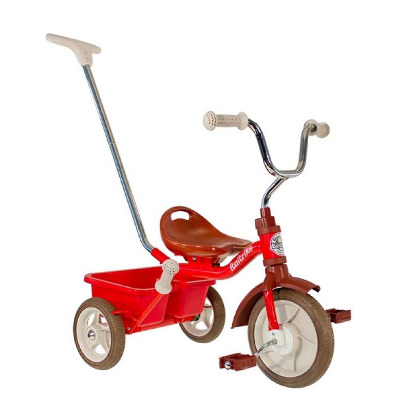 "Italtrike 10"" Passenger Trike - Champion Red"