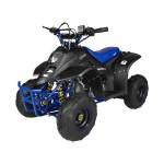 GMX 110cc Ripper-X Junior Kids Quad Bike - Black / Blue