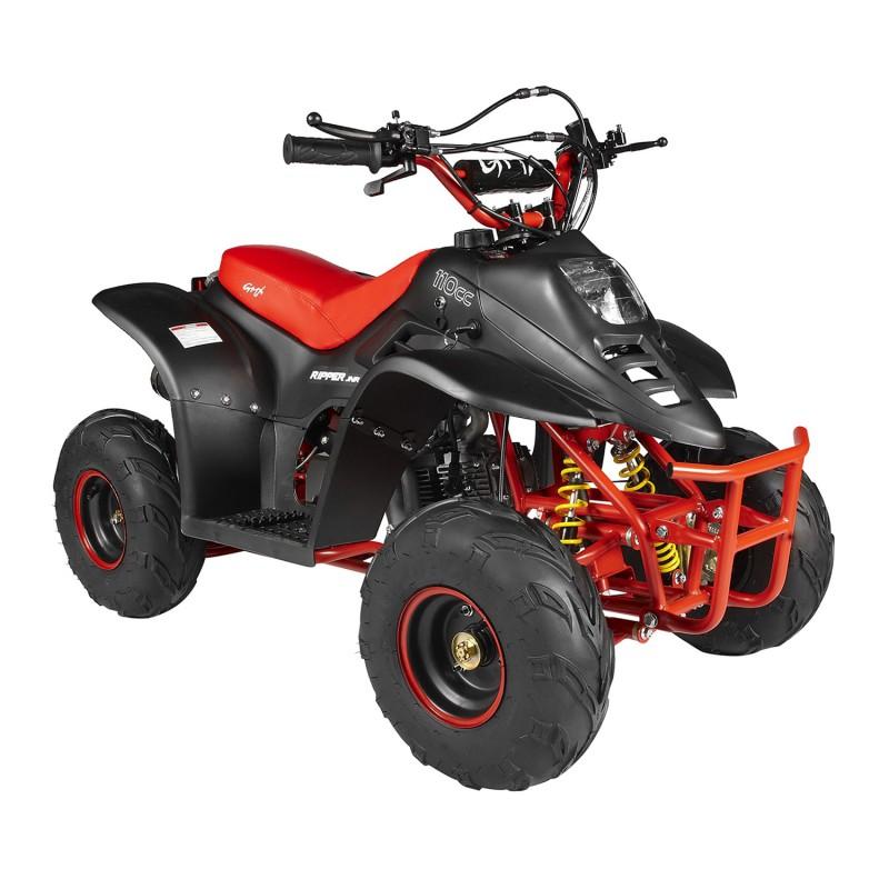 GMX 110cc Ripper-X Junior Kids Quad Bike - Black / Red