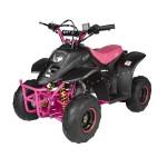 GMX 110cc Ripper-X Junior Kids Quad Bike - Black / Pink